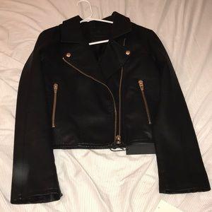 Blank NYC Jackets & Coats - Blank NYC Vegan Leather Moto Jacket NWT